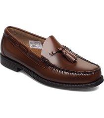 gh weejun ii larkin moc tassel loafers låga skor brun g.h. bass