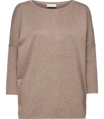 fqj -pu stickad tröja beige free/quent