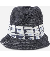 dolce & gabbana bucket hat with majolica print band