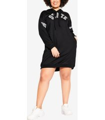 plus size ny state hoodie
