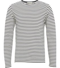 the organic striped tee ls t-shirts long-sleeved vit by garment makers