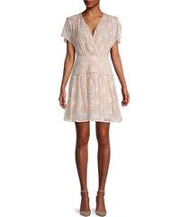 daisy chiffon dress