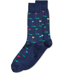 hot sox men's socks, golf crew