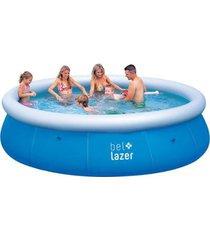 piscina inflável bel lazer 8200 litros 110 v + kit