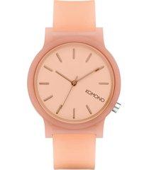 reloj analogo  mono blush rosa komono