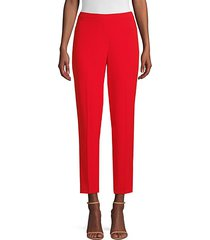 marcia crepe tapered ankle pants