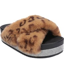 cape robbin women's spotty platform sandals women's shoes
