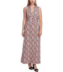 vince camuto women's sleeveless halter maxi dress