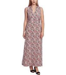 vince camuto women's sleeveless halter maxi dress