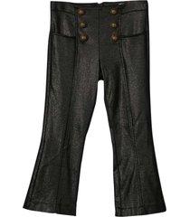 balmain black trousers
