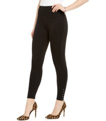 inc ponte-knit ankle grommet leggings, created for macy's