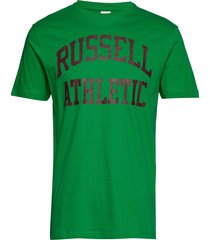 ru iconic s/s t-sh t-shirts short-sleeved grön russell athletic