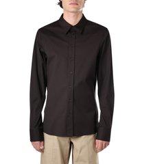 bottega veneta cotton long sleeve shirt
