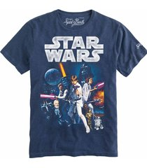 mc2 saint barth star wars® man blue navy t-shirt - disney® special edition
