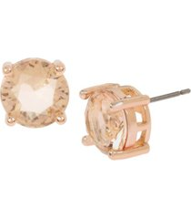 jessica simpson cz stone stud earrings