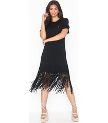 polo ralph lauren fringe dress-short sleeve-casual dress loose fit dresses