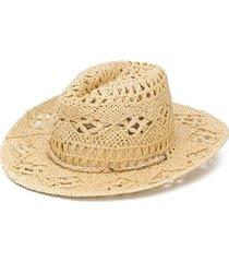 bonpoint western-style hat - neutrals