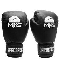 luva de boxe muay thai kickboxing mks combat prospect preta .