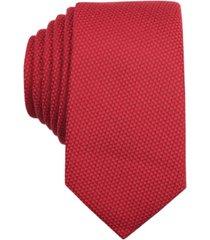 bar iii solid knit skinny tie