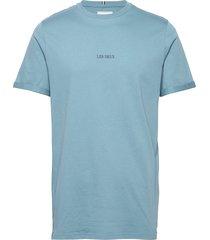 lens t-shirt t-shirts short-sleeved blå les deux
