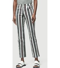 frame broek le sylvie band stripe multicolour