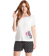 pijama curto funny dots