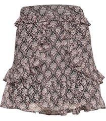 skirt kort kjol multi/mönstrad sofie schnoor