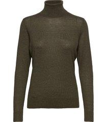 felina knit t-neck turtleneck coltrui groen second female