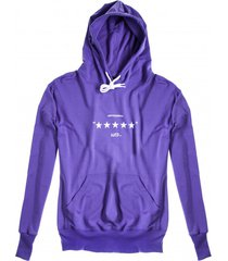 bluza hoodie clasic unfvckinreal violet