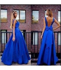 elegant v neck blue prom dresses 2017 a line arabic dubai cocktail dress luxury