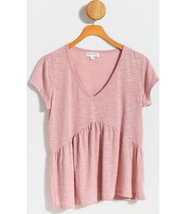 aidy tiered babydoll top - mauve