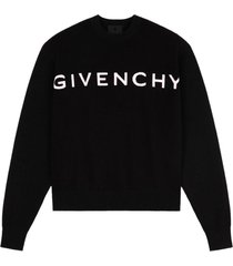 givenchy 12gg sweater w/giv. logo front & back