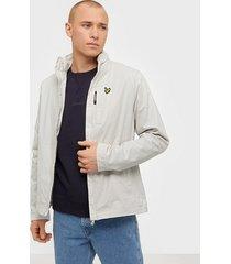 lyle & scott lightweight funnel neck jacket jackor glacier