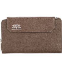 as2ov shrink short wallet - brown