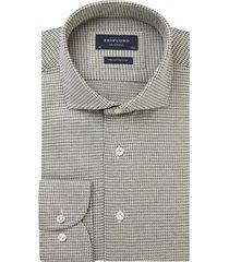 profuomo originale knitted overhemd met lange mouwen