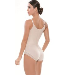 body espalda alta forrada en glúteos con forma de corazón para realce beige