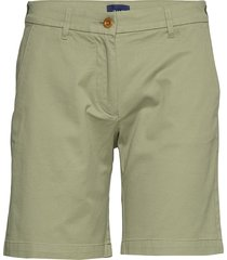 d1. classic chino shorts shorts chino shorts grön gant