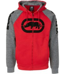 ecko unltd men's offensive line full zip hoodie