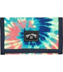 billetera atom wallet multicolor billabong