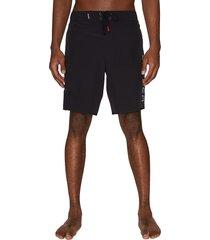 spyder men's logo drawstring shorts - red - size l