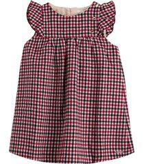 chloé checkered dress