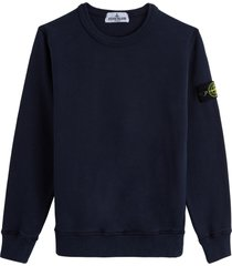 stone island sweatshirt with patch