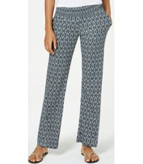 roxy juniors' printed flare-leg soft pants