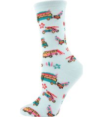 memoi surfs up women's novelty socks