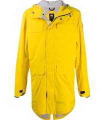 canada goose straight-fit parka - yellow