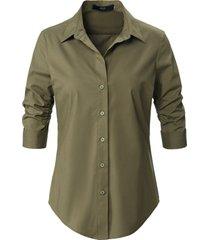 blouse van steffen schraut groen