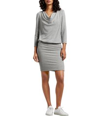 women's michael stars cecile madison ruched brushed jersey dress