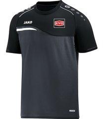 jako kivo t-shirt competition 6118-08 kiv6118-08 antraciet