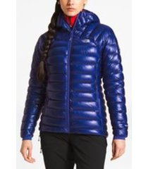 parka summit l3 down hoodie azul the north face