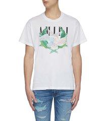 'lovebirds' graphic print t-shirt